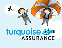 Turquoise Assurance | Web Design & Illustration
