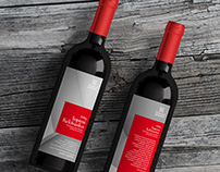 Iváncsics Winery wine label designs