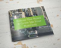 Corporate Business Square Brochure