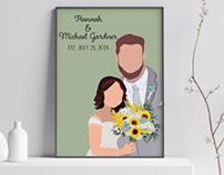 Gardner Wedding Poster