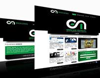 Diseño Web para Gráfica Moscol