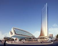 3D rendering - Public building