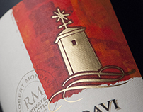 Robert Mondavi Private Selection Wine Label & Packaging