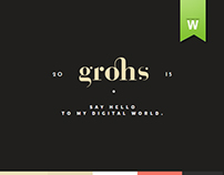 GROHS • WEBSITE • RELAUNCH 2015