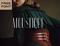 MOUSTIQUE - FREE ELEGANT SERIF TYPEFACE