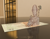 Egyptian Banknotes in 3D