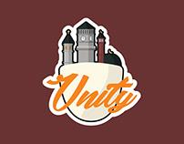 Unity Sticker: Religious Tolerance illustration