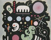 Wassily Kandinsky, Variegated Black