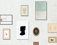Hussian College School of Art 2014 Senior Showcase Card