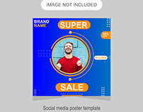 Fashion-Sale Social media poster design