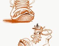 Shoe character