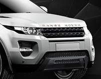 Range Rover Evoque CG Visuals