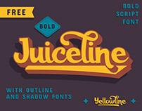 FREE | Juiceline Bold Script