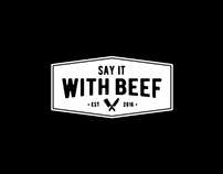 Say It With Beef - Branding & Web Design