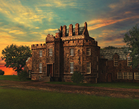 Merchiston Castle CG Environment