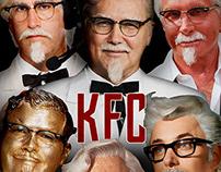 KFC x JUSTICE LEAGUE POSTER