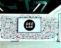 Geo Law x Aiimi Labs Mural