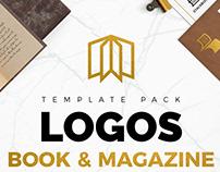 Download 20 Logos & Magazine Logo Template Pack