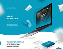 Brand and web design for business control company