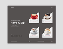 Cafetaria Web Design Concept - Volume 2