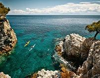 SEA KAYAKING ON THE ISLAND OF SKOPELOS