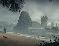 Fishing island
