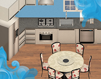 Midea Kitchen Simulator