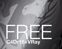 Free C4Dr16+VRay File (Model+Textures+Settings)