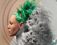 Creating Hair styles in Ornatrix