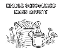 Edible Schoolyard Coloring Cookbook