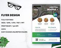 Food FLyer Design For Free Download