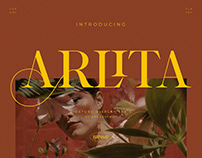 Arlita – Unique Ligature Font