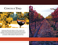Wine Catalogue for VCT Brazil