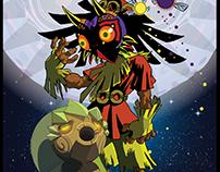 Majora's Mask Vector Poster