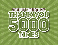 Freebies - Celebrating Facebook 5000 Likes