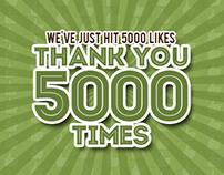 Freebies - Celebrating Facebook 5000 Likes