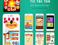 TIC TAC TOE - IOS GAME GRAPHICS WORK