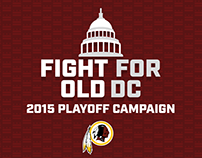 2015 Redskins Playoff Social Campaign
