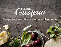 Gusteau – Elegant Food and Restaurant WordPress Theme