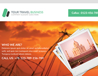 Tour Travel Business Flyer