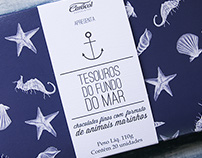 Caracol chocolates - Tesouros do fundo do mar