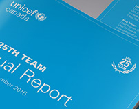 UNICEF Canada - Report Design