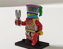 Lego Danzante de Tijeras
