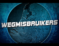 Wegmisbruikers (2014) - Main tile sequence and design