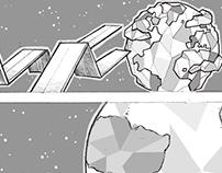 Storyboard Copa America Chile 2015 Intro