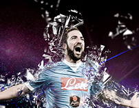 Gonzalo Higuain Illustration