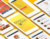 Chicken Bucket Mobile App UX/UI