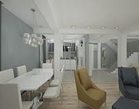 Design interior case moderne - Amenajari interioare 3d
