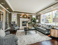Transitional Full Home Staging