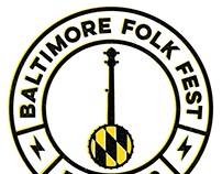 Baltimore Folk Fest // Event branding + promotion